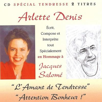 CD SPÉCIAL TENDRESSE (Hommage à Jacques Salomé)